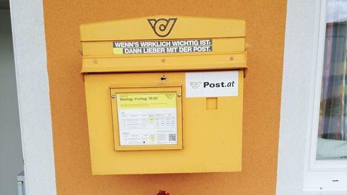 Unser Briefkasten